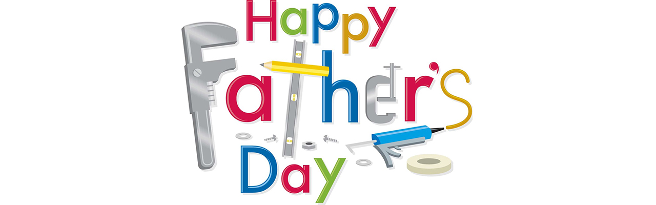 Happy Fathers Day! Lets do it together – a father says to his child
