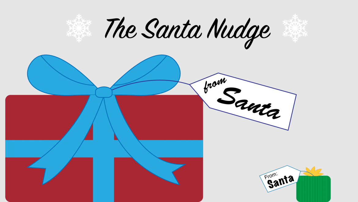 Santa Nudge: Help your kid to see equality and connect with other kids