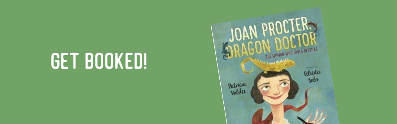 Get Booked! Joan Proctor, Dragon Doctor