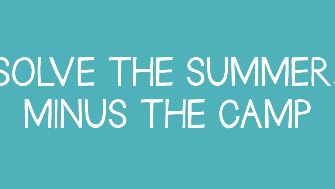 Summer holidays coming up…time to DECLUTTER!